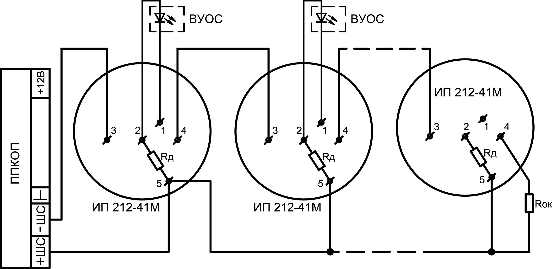 прибор астра 712 схема подключения