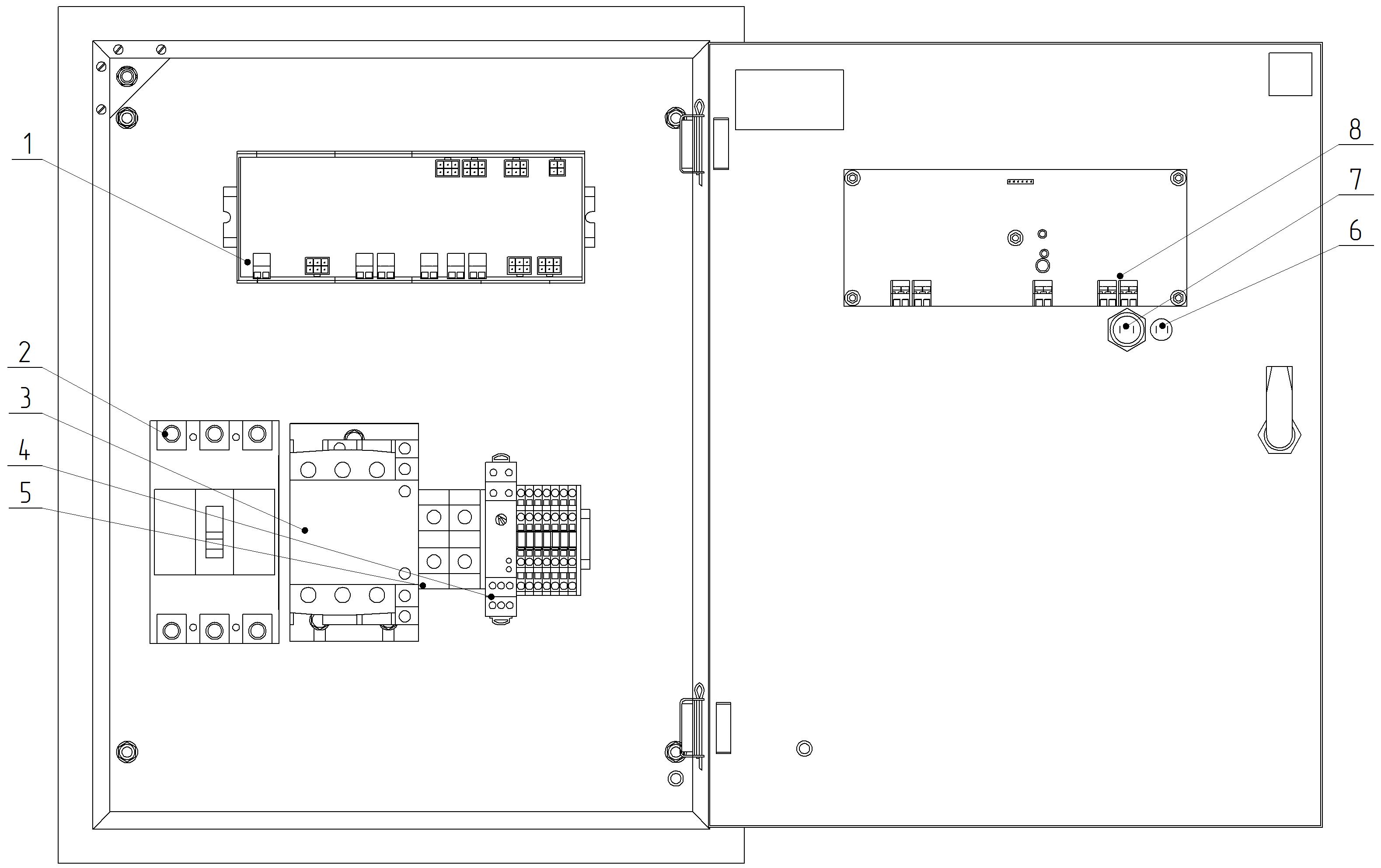 схема управления однофазным вентиляторов через шу
