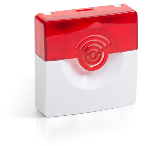 OPOP 124-7 24 V sound-and-light fire alarm device